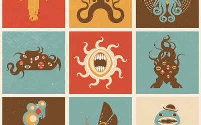 New Illustration: The Lovecraftian Squares